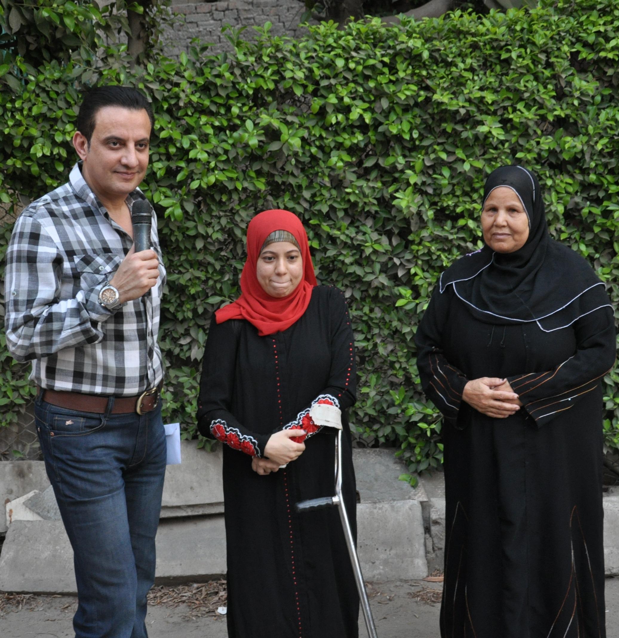من حلقات برنامج كلام من دهب 2012