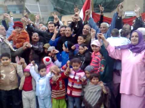 طارق علام فى مستشفى 57357 أثناء تكريمه لاهالى المدبح
