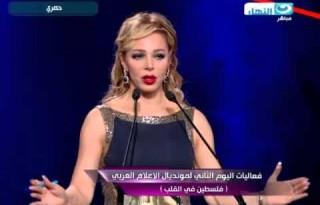 تكريم الإعلامى طارق علام فى مونديال الأعلام العربى