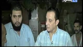 طارق علام غرق منزل في مياه الصرف الصحي