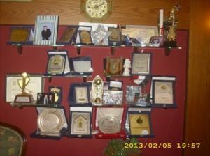 مجموعة جوائز وشهادات تقدير الاعلامى (طارق علام )
