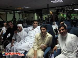 صور الاعلامي طارق علام في رحلة الحج
